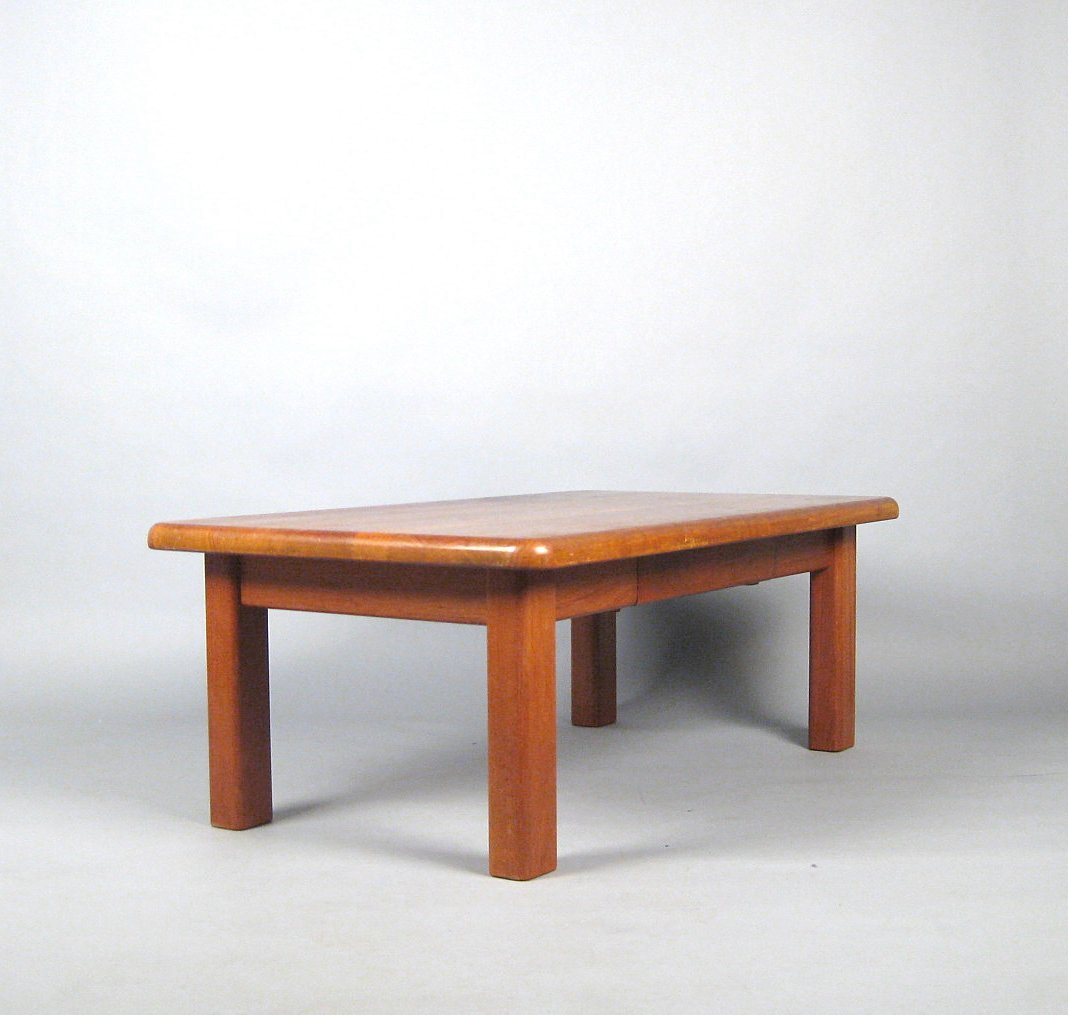 Dänisches Design, Sofatisch / Coffee Table In Teak Von Dyrlund | Lauritz.com