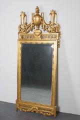 Dansk Louis XVI spegel,  skiftet 17/1800