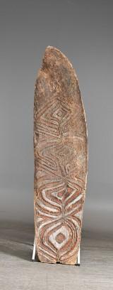 Citak, Asmat, Nya Guinea. Sköld