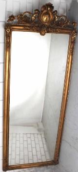 Salongsspegel, förgylld, 1880/90-tal