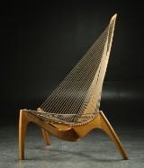 Jørgen Høvelskov. Harp chair, ash