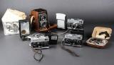 Samling ældre kameraer (6)
