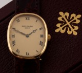 Patek Philippe 'Ellipse'. Ladies watch, 18 kt. gold, with original clasp