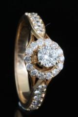 18kt diamond ring approx.0.75 ct