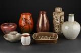 Royal Copenhagen, Dahl Jensen m.fl.  Vaser og skåle (8)