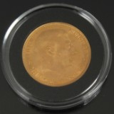 Guldmønt. 20 kroner, Christian X 1915