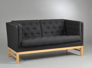 erik j rgensen to pers sofa model ej 315 2. Black Bedroom Furniture Sets. Home Design Ideas