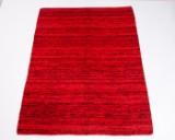 Tæppe, design 'Kilim Sari Silk', Indien, ca. 200 x 140 cm