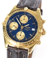 Breitling herrearmbåndsur af guld 18 kt., automatique, Chronomat, ref. K13047X