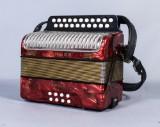 Dragspel, Hohner Erica, i väska