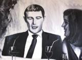 Maxima Bettina Schürmann, oil on canvas, 'When the party begins'