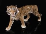Bing og Grøndahl, figur i form af tiger, porcelæn, 2. sortering