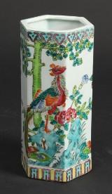 Kinesisk hatstand / vase af porcelæn 1900-tallet