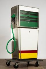 Rohé, Tankanlagen, Zapfsäule / Tanksäule, Metall, Glas und Kunststoff, Niederlande, 1970er Jahre