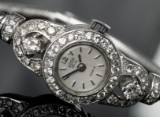 Arsa-Luxe damearmbåndsur med brillanter i art deco-stil ca. 1.25 ct.