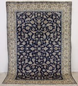 Nain carpet with silk outlines, Persia, 290 x 206 cm, approx. 400-500,000 knots per m2