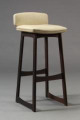 Dansk møbelproducent. Barstol, mahogni