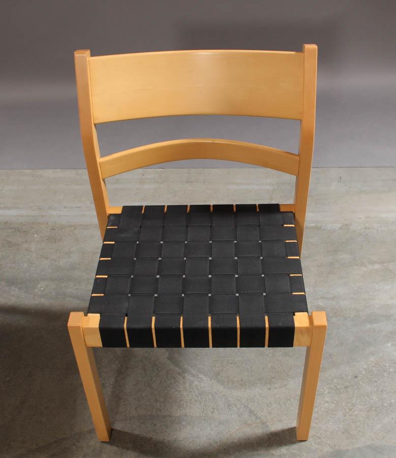 Hans J. Wegner. 1914 2007. Sæt 'Koldinghus' stole, bøg og