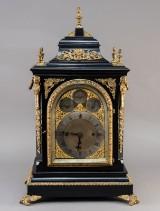 Large English lantern clock, 19th century