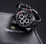 TAG Heuer 'Formula 1 Caliber 16' men's watch, PVD-treated steel, 2010's