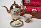 Kinesisk testel af porcelæn, fra ca. 1950