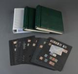 Sverige. Samling frimærker i 3 album og plancher