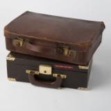 Konvolut Koffer, Leder (2)