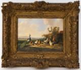 Albertus Verhoesen, painting, 1879