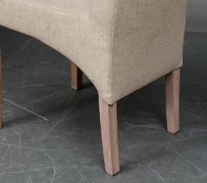 Vare: 4382899 Langbord egetræ med tilhørende stole (15)