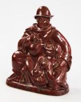 Jais Nielsen, Royal Copenhagen, 'Den barmhjertige samaritaner', keramik