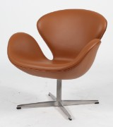 Arne Jacobsen. The Swan, lounge chair, model 3320