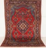 Persisk handknuten matta Mahal mått 315x207