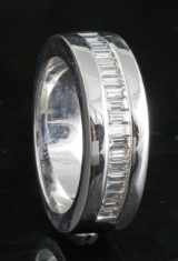 Diamond ring in 18kt approx. 0.75ct