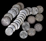 Samling mynt, silver, Sverige (27)