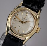 Rolex Speedmatic Precision. Vintage mid-size watch, 10 kt. gold, 1950s