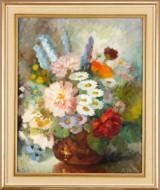 Edith Gert oljemålning