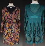Karen Millen, 2 stycken klänningar i siden, storlek 36 (2)