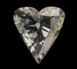 Loser Diamant, Herzschliff, ca. 0.92 ct