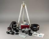 Minolta SR-7 kamera med tilbehør, 60'erne (8)
