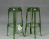 Philippe Starck: To skamler, model 'Charles Ghost' - grøn (2)