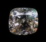 Loser Diamant, Kissenschliff, (H144), ca. 0.91 ct