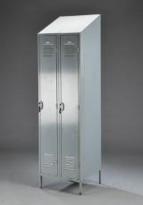 Vintage lockerskab / metalskab