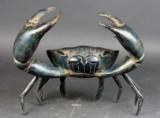 Stor krabbe i bronze