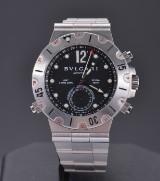 Bvlgari Diagono GMT Chrono men's watch