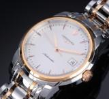 Longines 'Saint-Imier' men's watch, 18 kt. pink gold and steel - box + cert. 2016