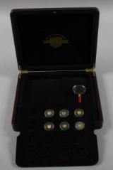 Verdens mindste guldmønter samling (6)