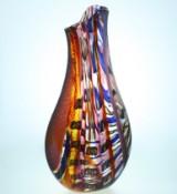 Gianluca Vidal — Murano, Italy — glass vase