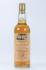 Port Ellen Single Islay Malt Scotch Whisky. Spirit of Scotland 1999