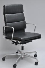 Charles Eames. Office chair with armrests, model EA-219, from 2013