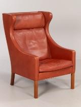 Børge Mogensen. Wing chair / lounge chair, model 2204